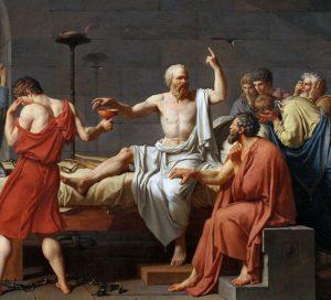 مرگ سقراط اثر لویی داوید